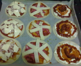MINI PIZZAS VARIADAS