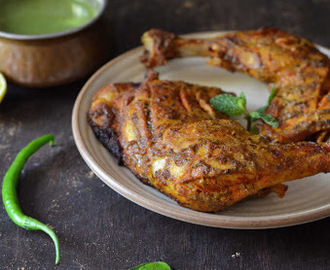 Tandoori Chicken (Indian Style Roasted Chicken)