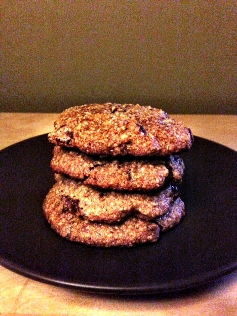 Paleo bacon chocolate cookies