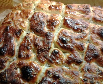 FOCCACIA TIL GODE SUPPER