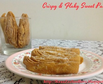 Crispy and Flaky Sweet Pastry