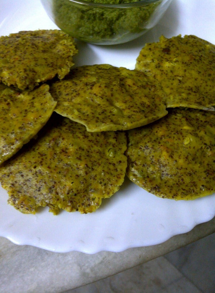 Rice Free Idli of Bajra (Pearl Millet) & Ragi (Finger Millet) Grains: Plain and Masala Varieties