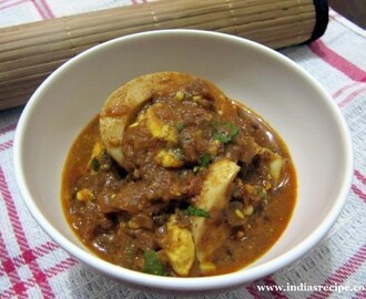 Egg Curry (Anda Masala / Baida Curry)