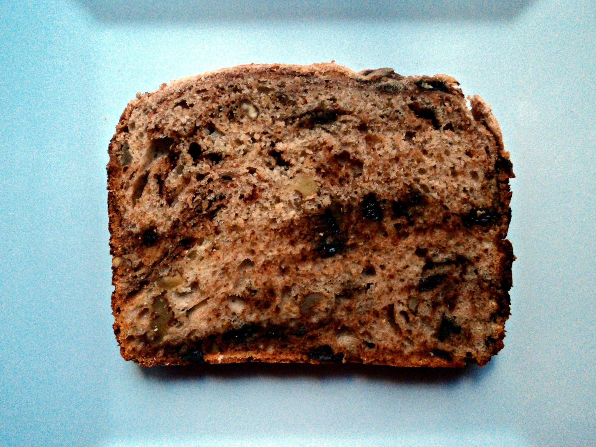 Pan de leche con nueces, miel y chocolate