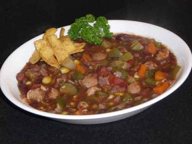 Vegetarian Chili, A Super Bowl Delight!