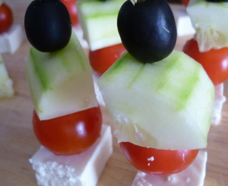 Greek Salad Snack