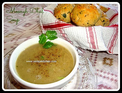 Whole Green Moongh dhal Soup /Moong Dhal Soup Recipe / Moong Dal Shorba Recipe / Mung Dal Soup Recipe