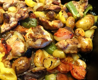 Hairy Bikers Spanish Style Chicken Bake