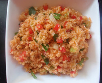 Kisir of Turkse Bulgur Salade