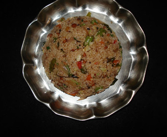 Dalia/Broken Wheat Upma