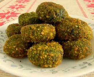 Spinach and Potato Kababs