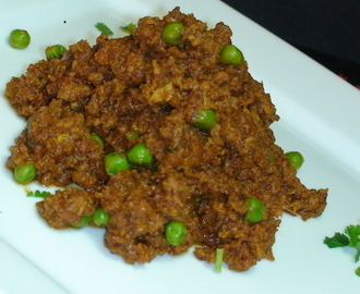 Keema Matar (Minced Lamb & Green Peas) Recipe