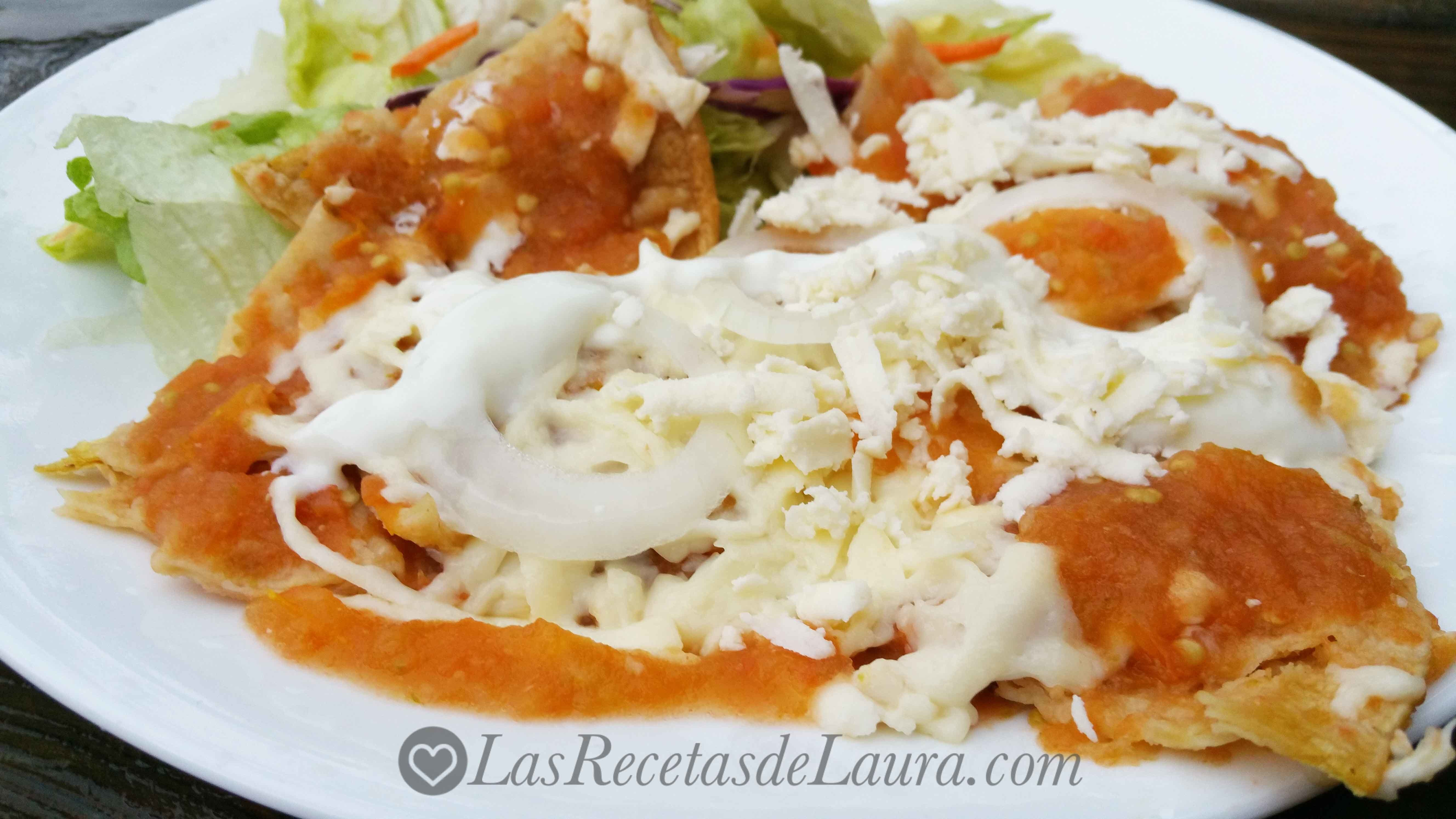 Deliciosos chilaquiles saludables