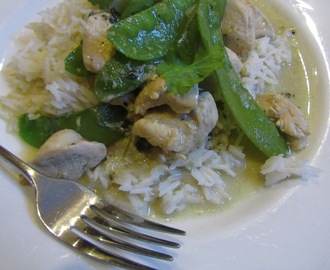 Easy Thai Green Chicken Curry