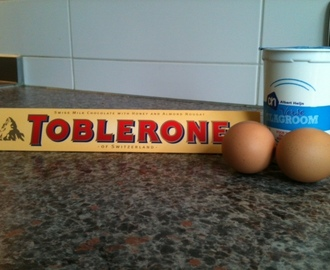 Food: Toblerone mousse