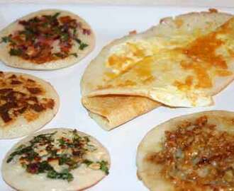 Uttappam Recipe and Egg Dosa – Cuisine From Southern India