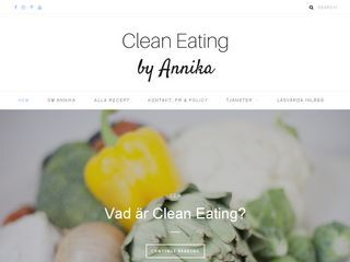 Clean Eating by Annika