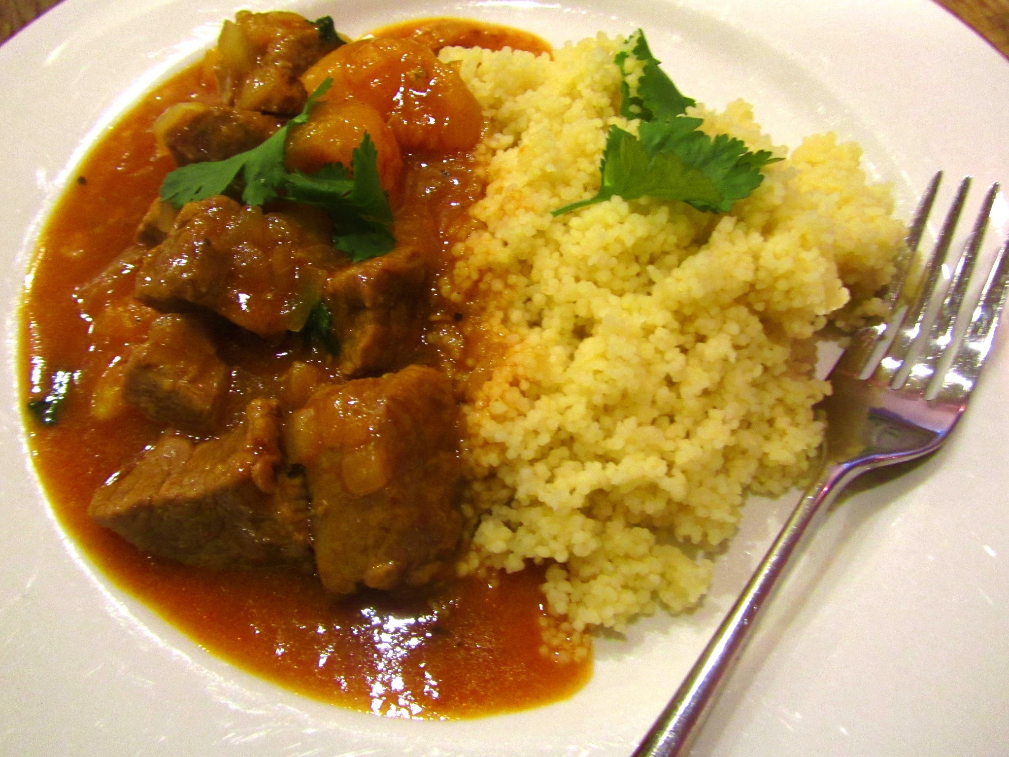 Lamb Tagine with cous cous