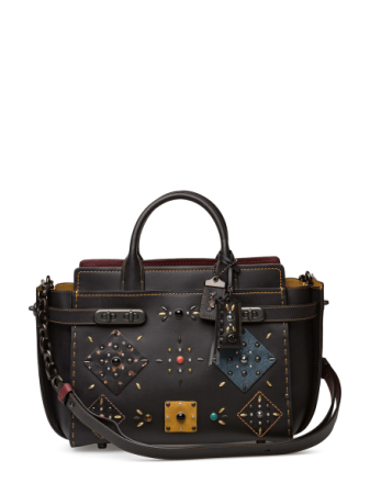 Patchwork Prairie Rivets Double Coach Swagger Carryall