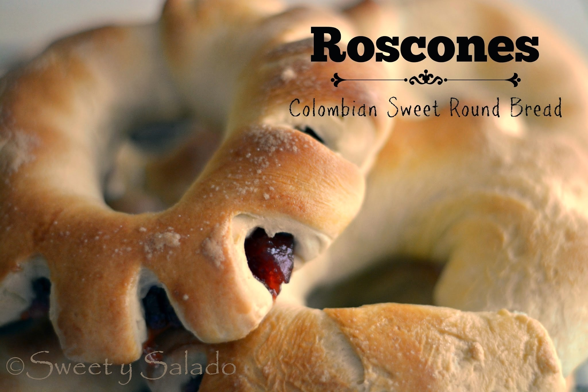 Roscones (Colombian Sweet Round Bread)