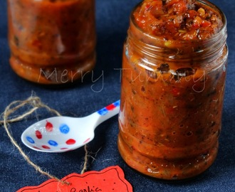 Roasted Garlic And Red Bellpepper Pasta Sauce
