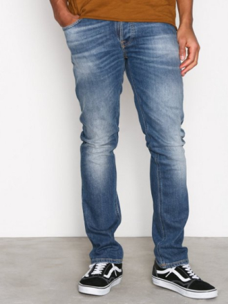 Nudie Jeans Grim Tim Conjunctions Jeans Denim