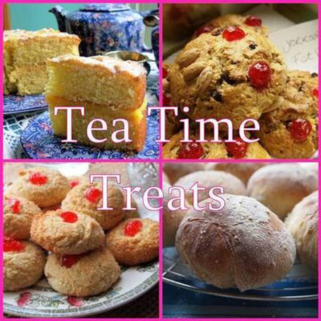 February Tea Time Treats Blogging Challenge: The Round-Up