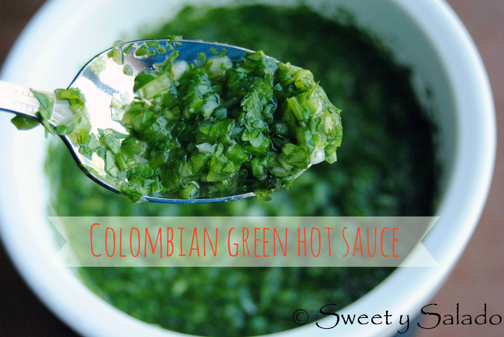 Colombian Green Hot Sauce
