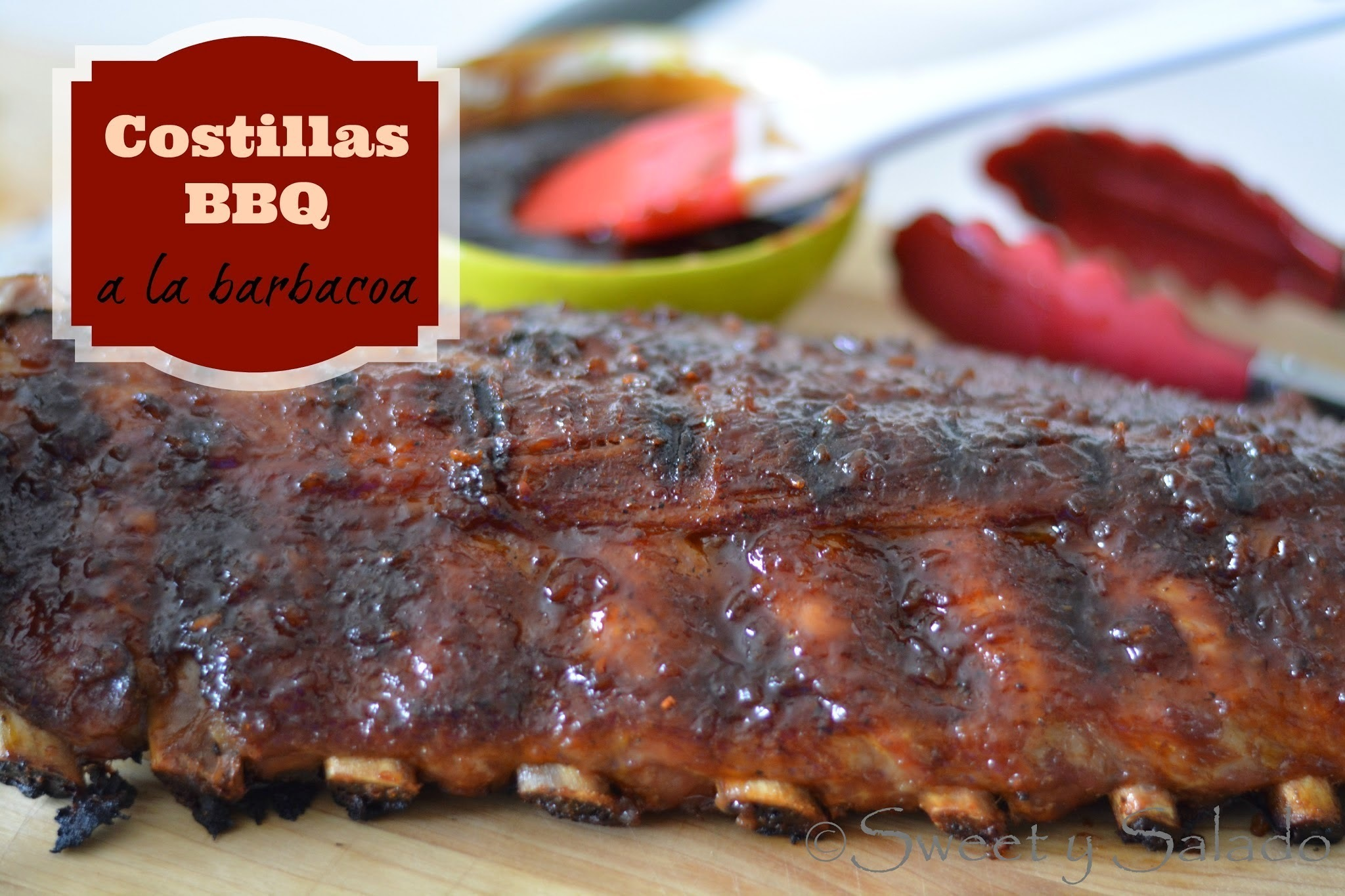 Costillas BBQ (A la Barbacoa)