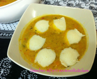 South Indian Special Sambar - Idly