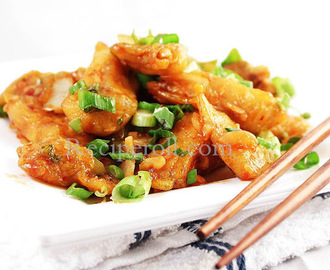 Indo Chinese Chilli Fish | Appetizer With Fish Fillets