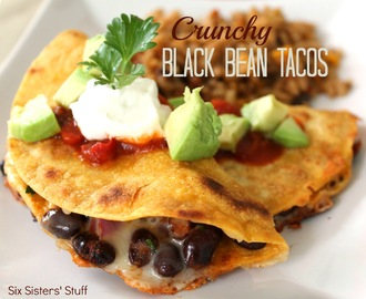 Crunchy Black Bean Taco Recipe