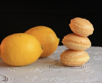 Macarons de lemon pie