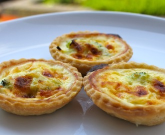Broccoli and Cheddar Mini Quiches for the Whole Family