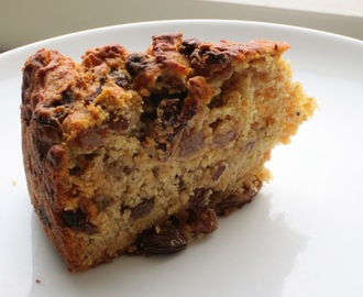 Sugar Free Carrot, Sultana and Apple Cake for Babies and Toddlers