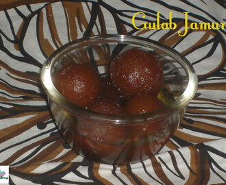 Gulab Jamun:Dessert:Diwali Recipes\Christmas New Year Eve