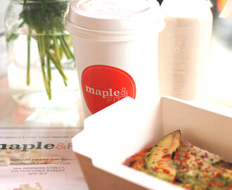 Maple And Fitz London – Healthy Food On The Go!