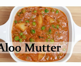 Aloo Mutter - Potato Peas Curry