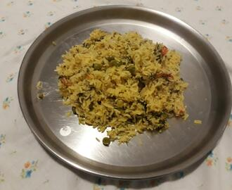 Shepu Rice/ Dill Leaves Pulav
