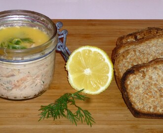 Hot Roasted and Smoked Potted Salmon Recipe