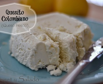 Quesito Colombiano (Queso Fresco)