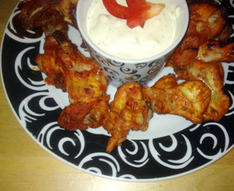Buffalo Wings med Bluecheese dip