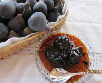 FIGUES CONFITADES - FIG CONFITURE