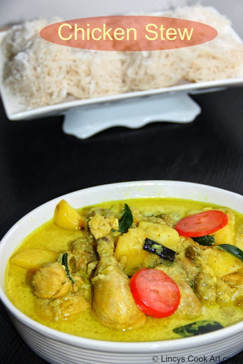 Chicken Stew/ Chicken Stew using Coconut Milk/ Kerala Chicken Stew