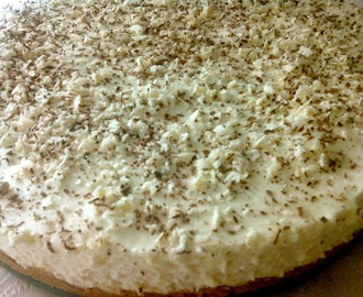 Tarta Mousse de Queso y Chocolate Blanco