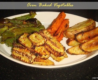 Oven Baked Vegetables
