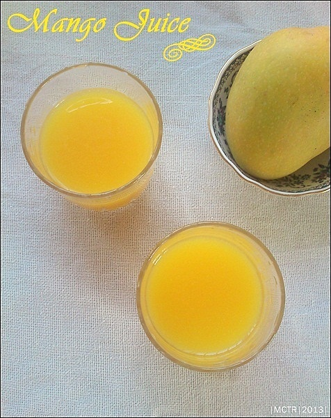 Mango Juice | Fresh Mango Juice | Summer Drinks