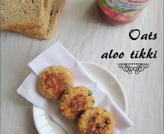Oats Aloo Tikki | Oats Recipes