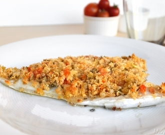 Filetti di orata gratinati