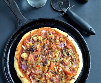 Veggie Pizza for Home Bakers Challenge